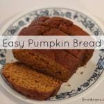 EasyPumpkinBread